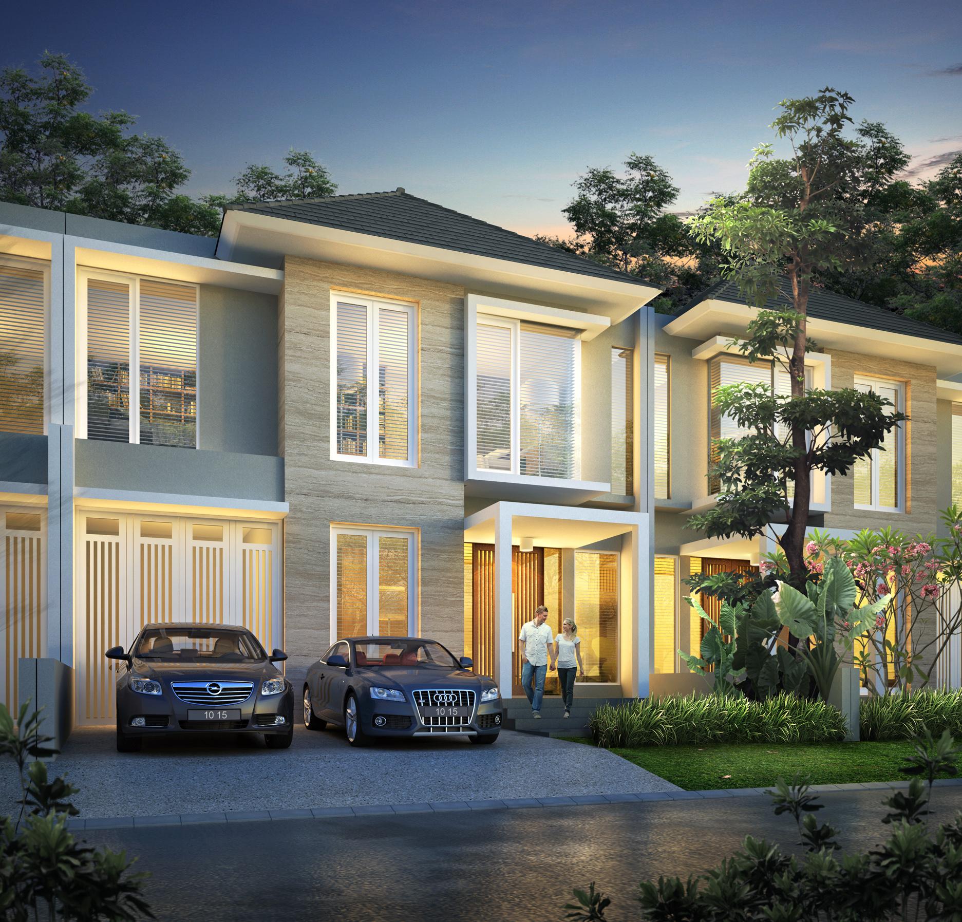 Berry Jpg Desain Rumah Surabaya Barat Citraland Tipe Type Citra