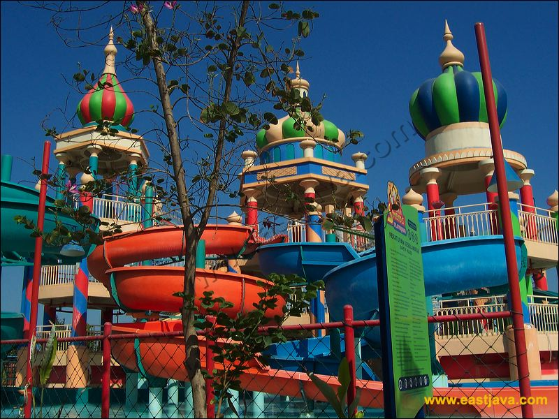 Ciputra Waterpark Surabaya Biggest Water Park Indonesia Citra Raya Kota