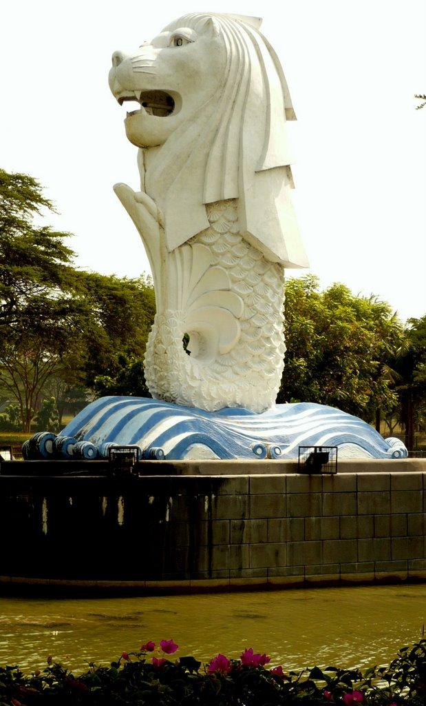 Merlion Citra Raya Singapore Surabaya Mapio Net Kota