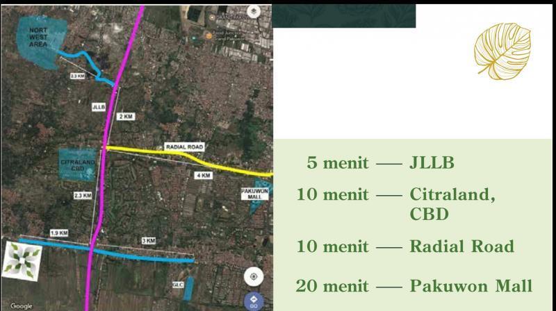 Rumah 2lantai 600jutaan Dekat Citraland Surabaya Harga Perdana Jl Citra
