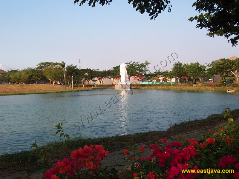 Surabaya Ciputra Raya Park Million Flowers Area Citra Preview 16