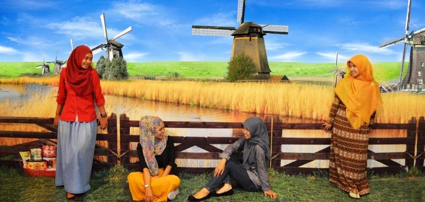 De Mata Trick Eye Museum Tempat Foto Kekinian Yogyakarta Wisata