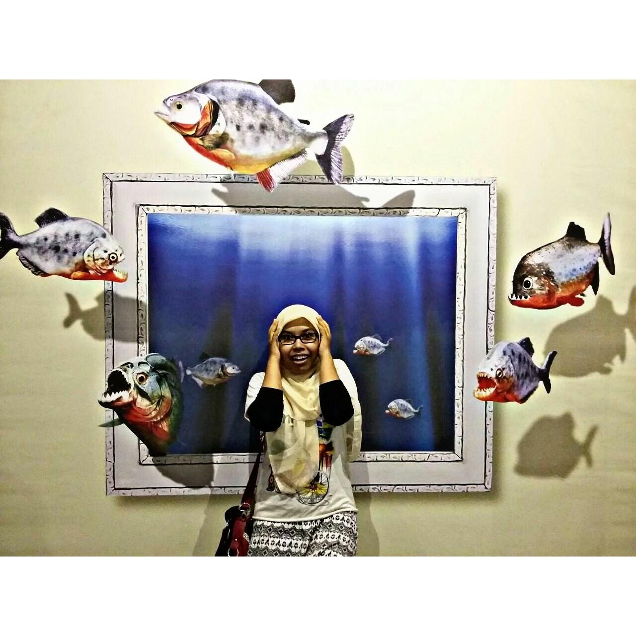 Demata Surabaya Trick Eye Museum Ego De Mata Kota