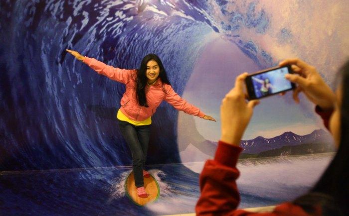 Doyan Selfie Kamu Wajib De Mata Trick Eye Museum Kita