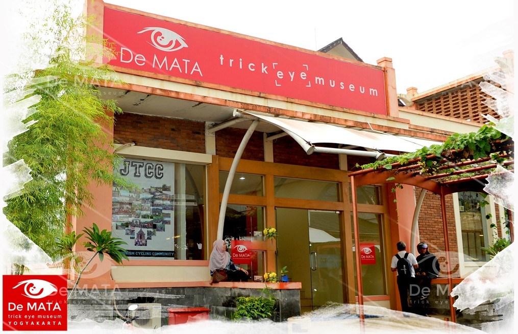 Paket Wisata Jogja 2017 Tour Museum De Mata Trick Eye