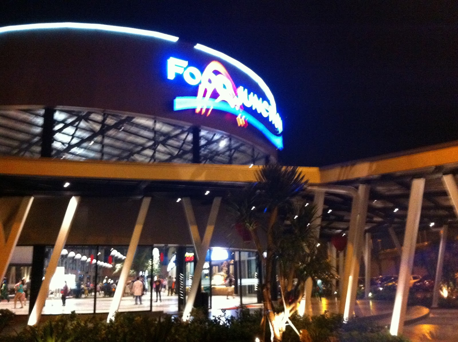 Bramantyo Cahaya Alam Impression Food Junction Grand Pakuwon Surabaya Night