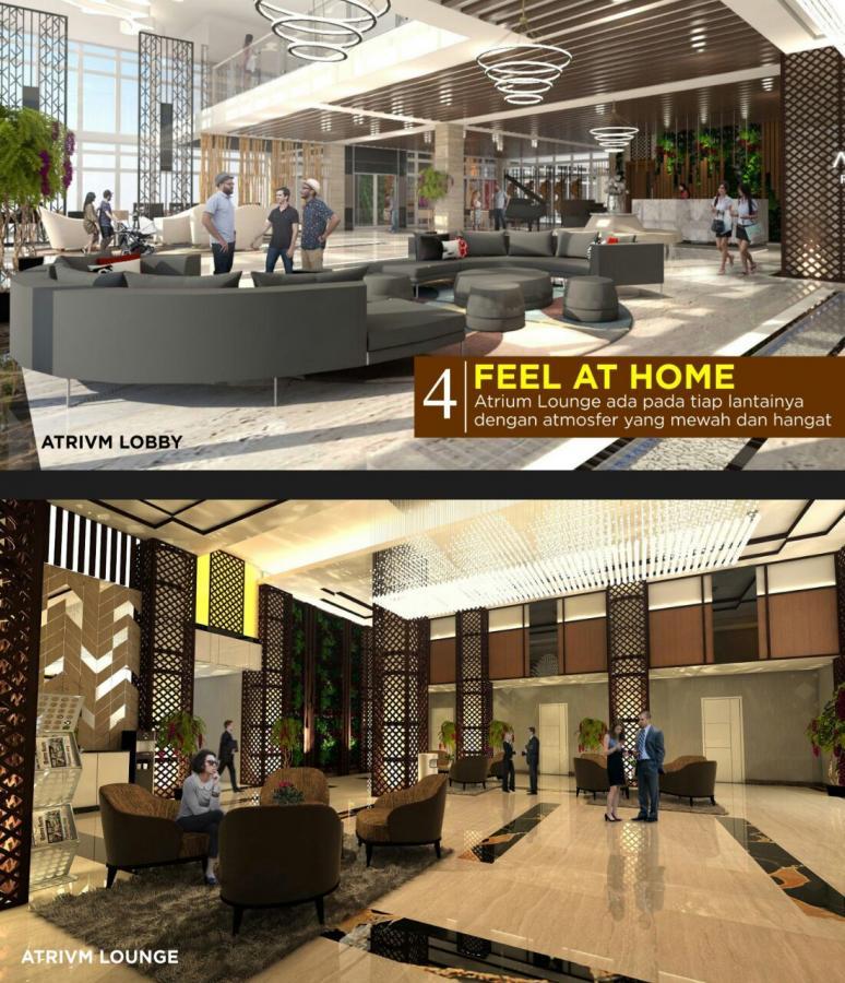 Apartemen Dijual Atrivm 185 Juta Dekat Walk Rumah Surabaya Kota