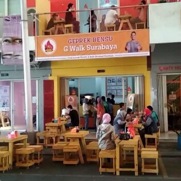 Ayam Geprek Bensu Walk 1 Tip Kota Surabaya