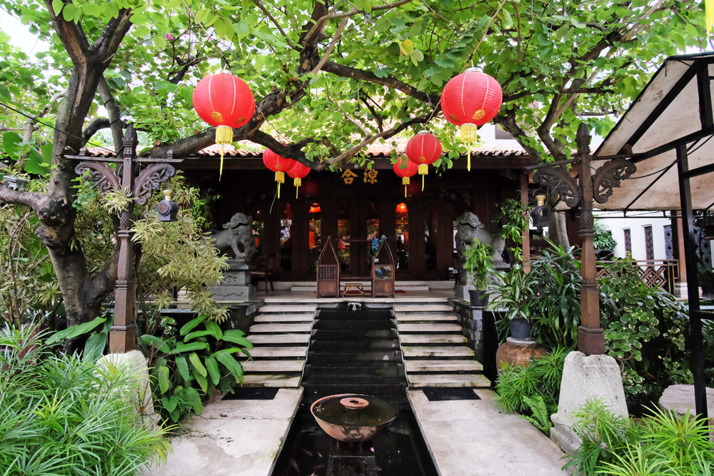 Kahyangan Resto Gwalk Citraland Surabaya Rek Interior Jawa Tionghoa Walk