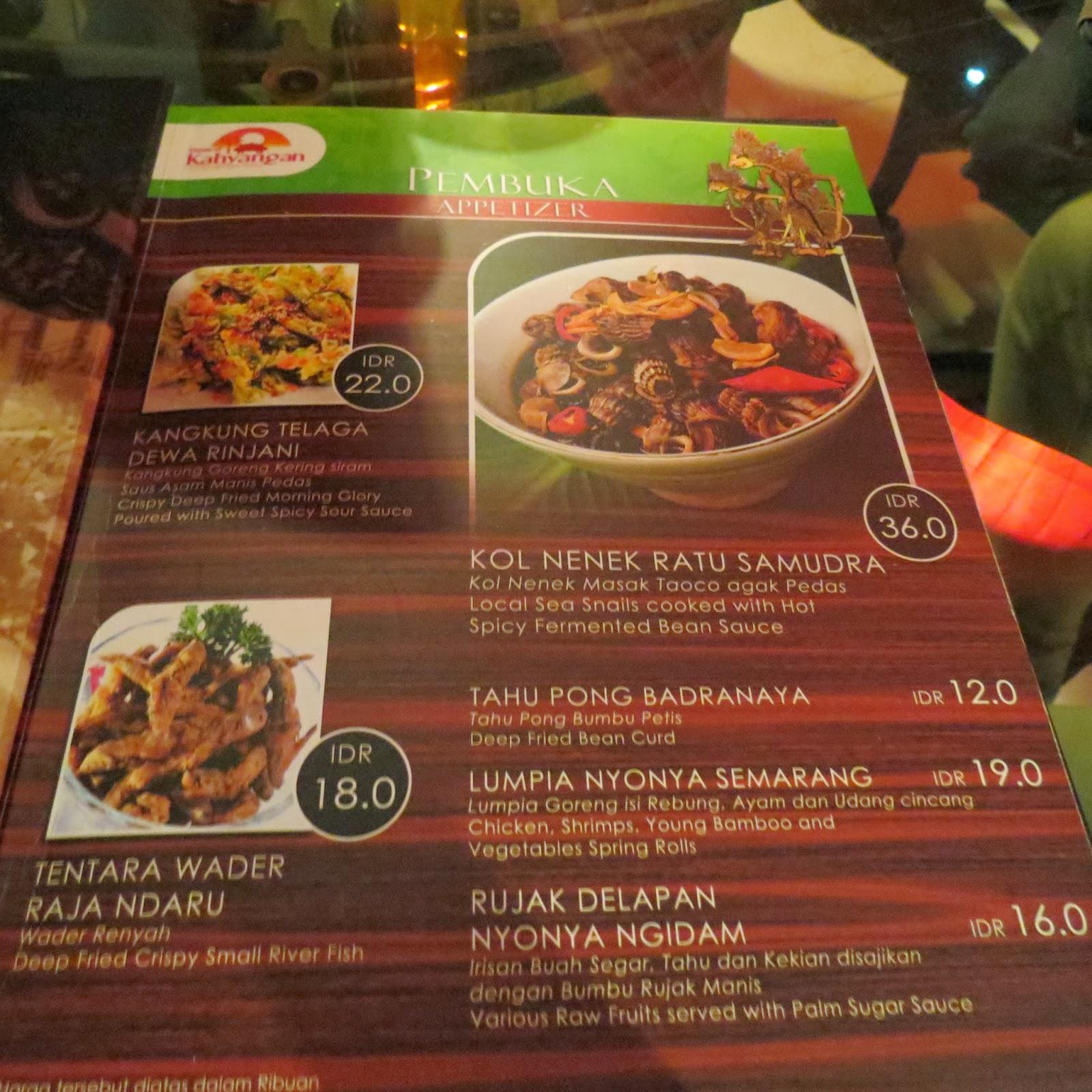 Surabaya Resto Walk Kahyangan Food Restaurant Stalls Art Kota