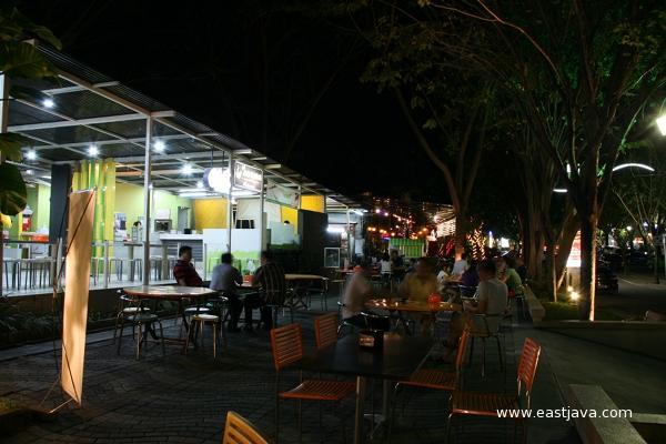Walk Culinary Spot East Java Indonesia Tropical Paradise Tourism Surabaya