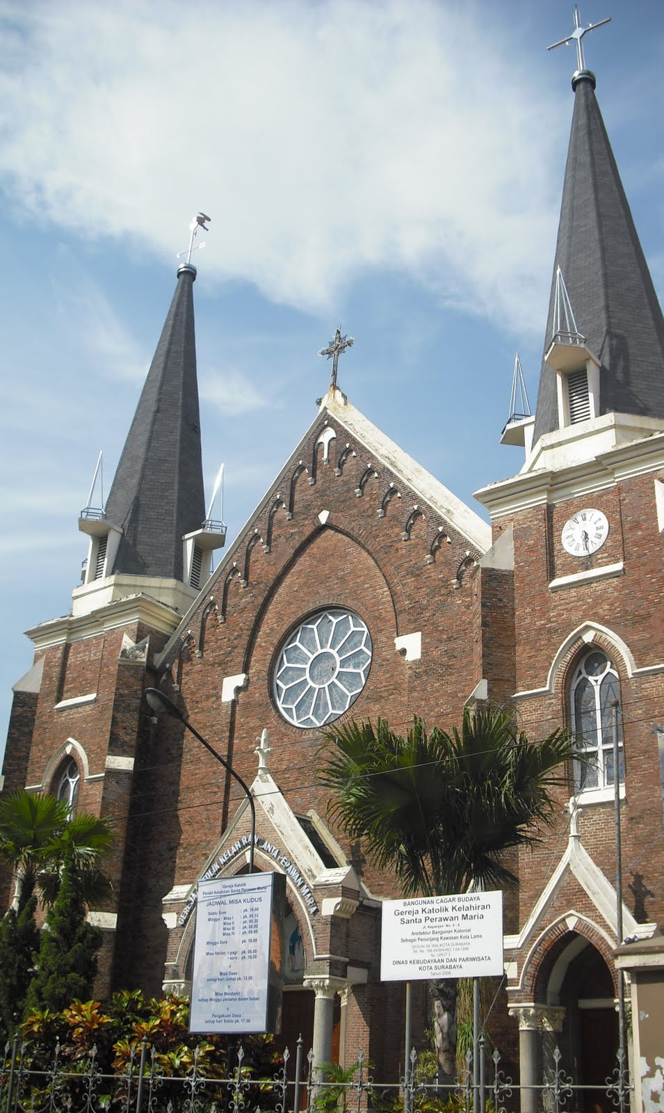 Che Maqueinu Blog Estetika Gereja Kelahiran Santa Perawan Maria Batu