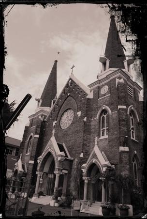 Gereja Catatan Perjalanan Tabernakel Perawan Maria Tak Berdosa Kota Surabaya