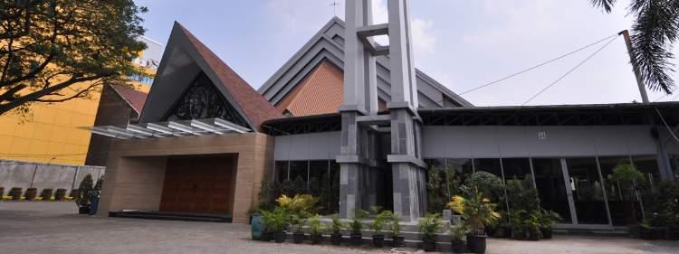 Gereja Hati Santa Perawan Maria Tak Bernoda Paroki Tangerang Berdosa