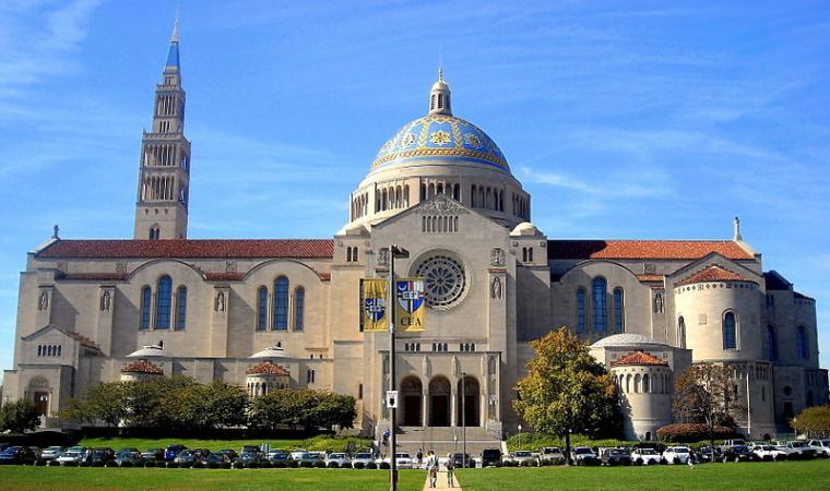 Gereja Katolik Basilica Washington Oleh Hendra Josuf Perawan Maria Tak