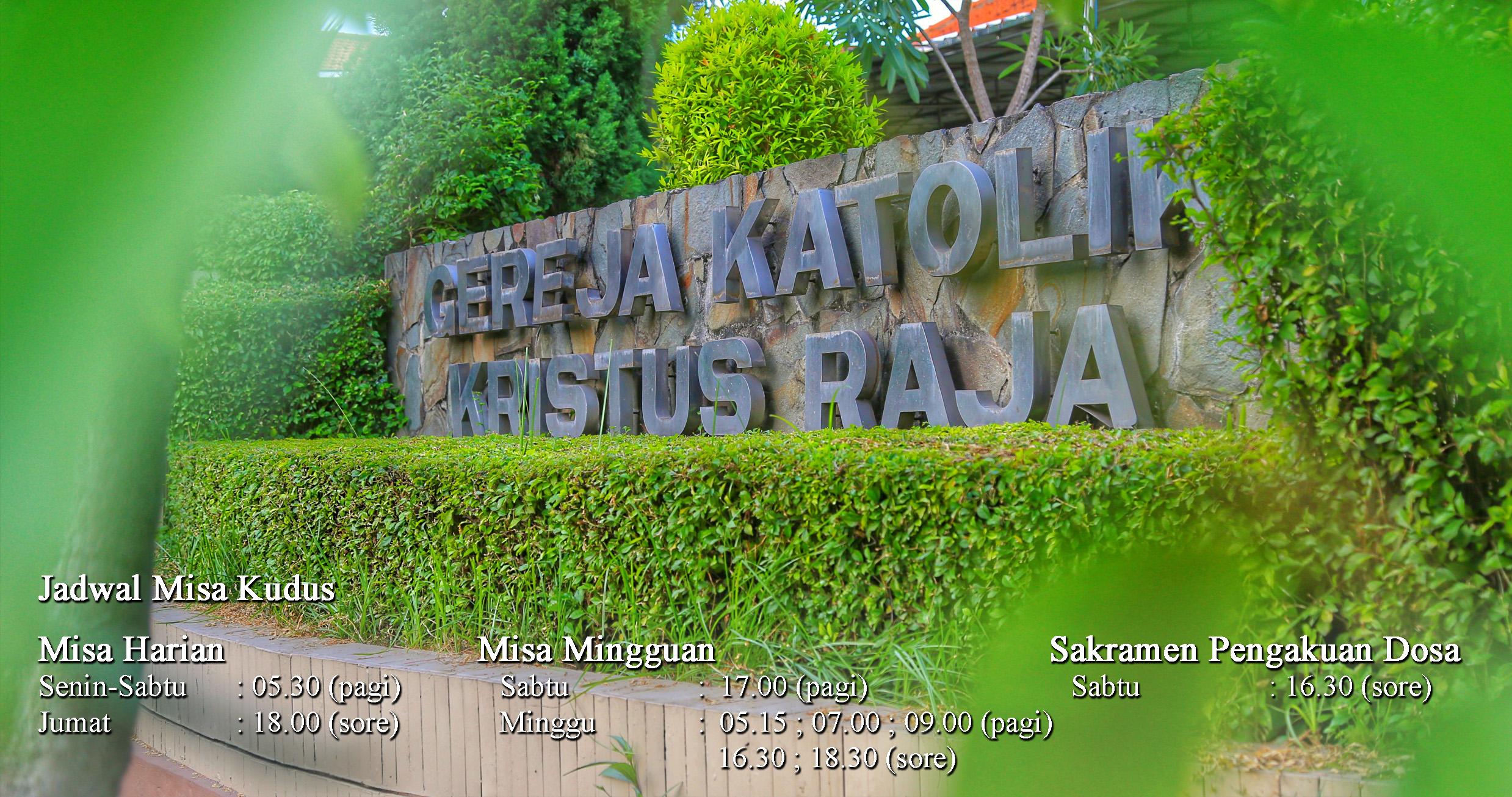 Gereja Katolik Kristus Raja Surabaya Perawan Maria Tak Berdosa Kota