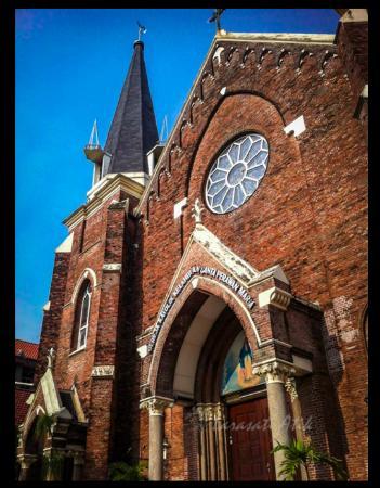 Gereja Tampak Depan Picture Santa Perawan Maria Luar Tak Berdosa