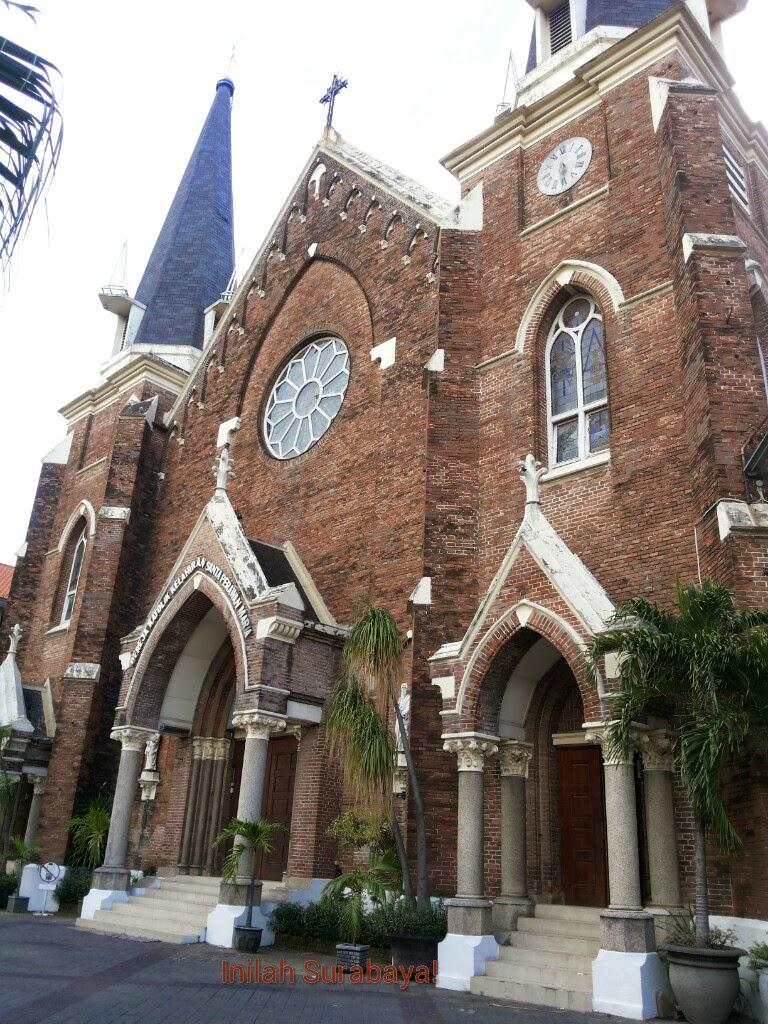 Inilah Surabaya Gereja Kepanjen Perawan Maria Tak Berdosa Kota
