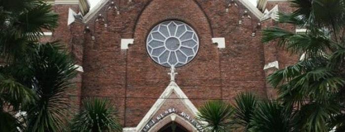 Katolik Surabaya Gereja Perawan Maria Tak Berdosa Kota