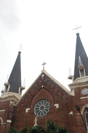 Oldest Catholic Church Surabaya Review Gereja Santa Perawan Maria Indonesia
