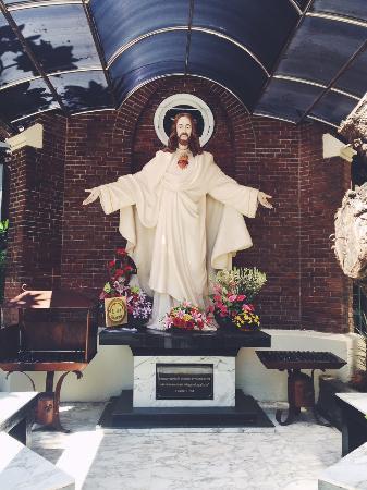 Patung Tuhan Yesus Picture Gereja Santa Perawan Maria Surabaya Tak