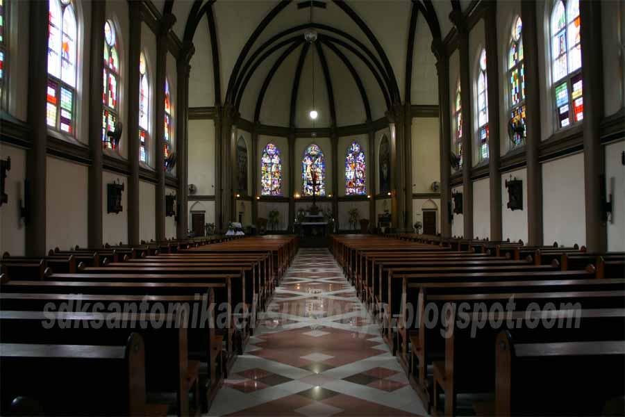 Sdk Santo Mikael Surabaya Gereja Kelahiran Santa Perawan Maria Kepanjen