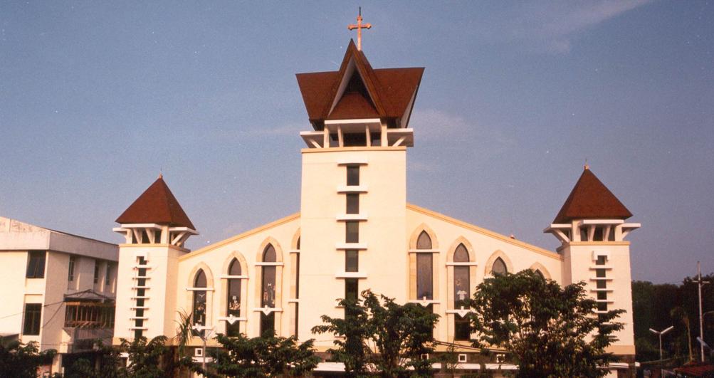 Smtb Gereja Katolik Santa Matia Tak Bercela Perawan Maria Berdosa