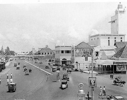 Foto Surabaya Tempo Dulu Jalan Pahlawan Kembang Jepun Kota