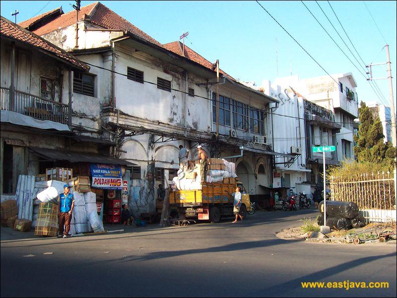 Galeri Foto Jalan Karet Surabaya Kompleks Pecinan Kembang Jepun Kota