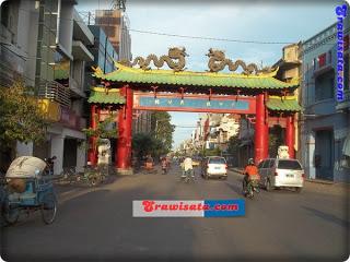 Kya Kembang Jepun Surabaya Wisata Indonesia Jalan Kota