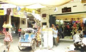 Pasar Bong Surabaya Wisata Jawatimuran Berada Jalan Slompretan Sisi Kanan