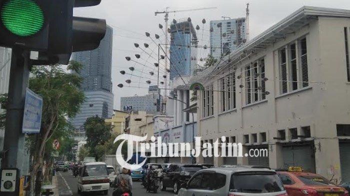 Awas Jalan Tunjungan Surabaya Makin Macet Inilah Penyebabnya Kota