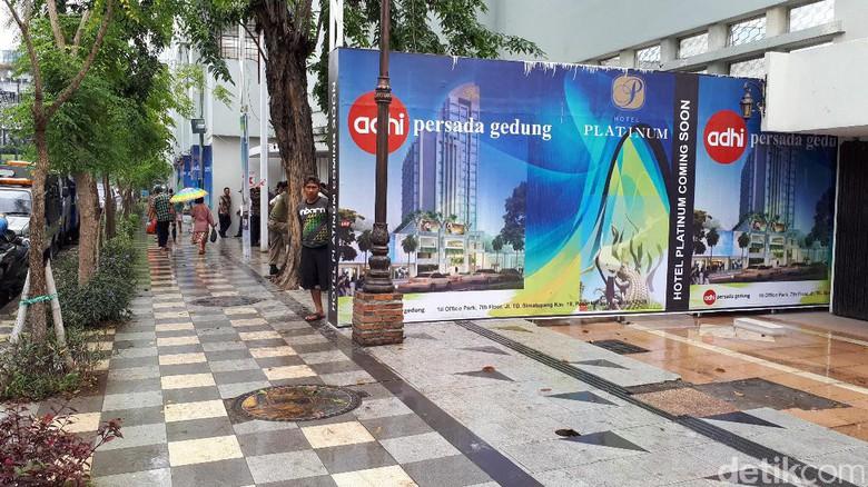 Hotel Jalan Tunjungan Disetop Rusak Pedestrian Pembangunan Kota Surabaya