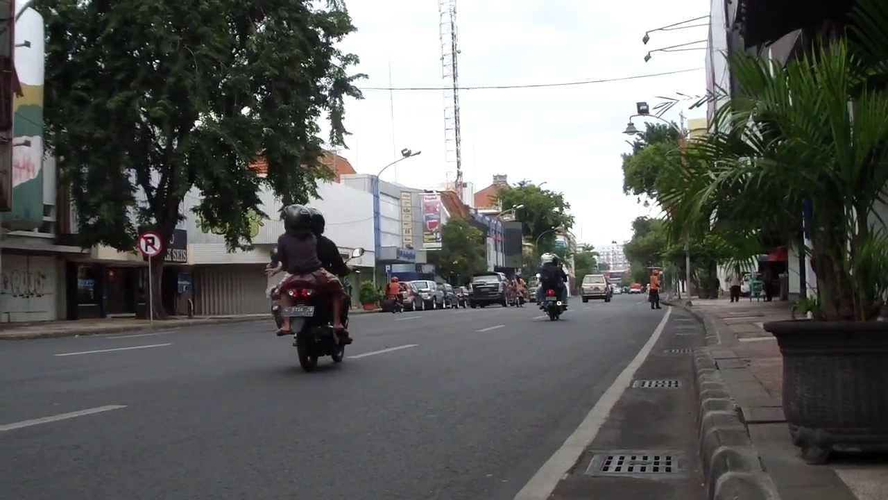 Jalan Tunjungan Kota Surabaya Jawa Timur Youtube