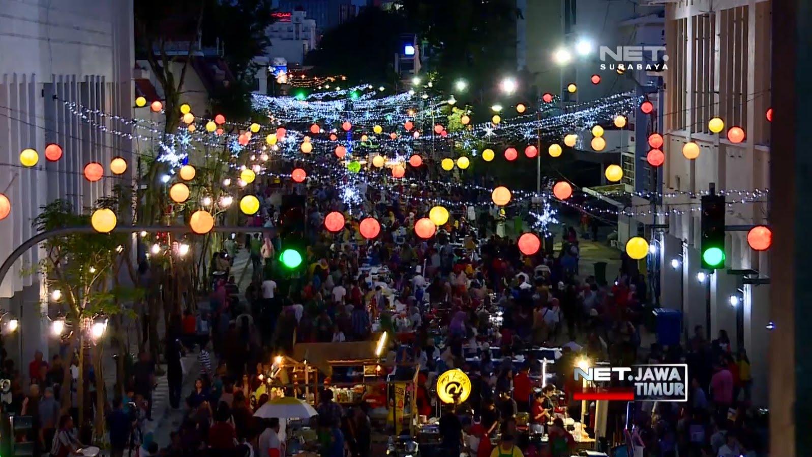 Net Jatim Kemeriahan Festival Jalan Tunjungan Youtube Kota Surabaya