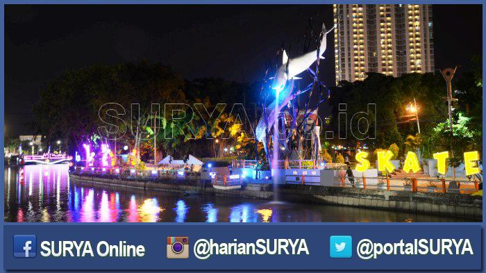 Ruas Jalan Tengah Kota Surabaya Ditutup Sore Nanti Surya Tunjungan