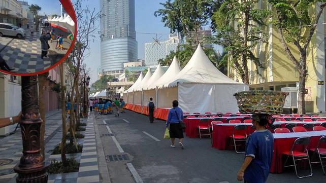 Suarasurabaya Net Kelanakota Jalan Tunjungan Ditutup Pemkot Surabaya Sosialisasi Pemilik