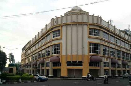 Tunjungan Street Witness Moments Surabaya Indonesia Welcoming World Jalan Kota
