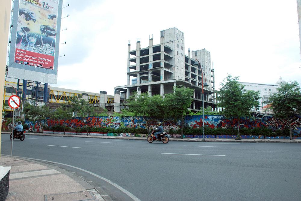 Visualinsite Jl Tunjungan Surabaya Visual Jalanan Jalan Kota