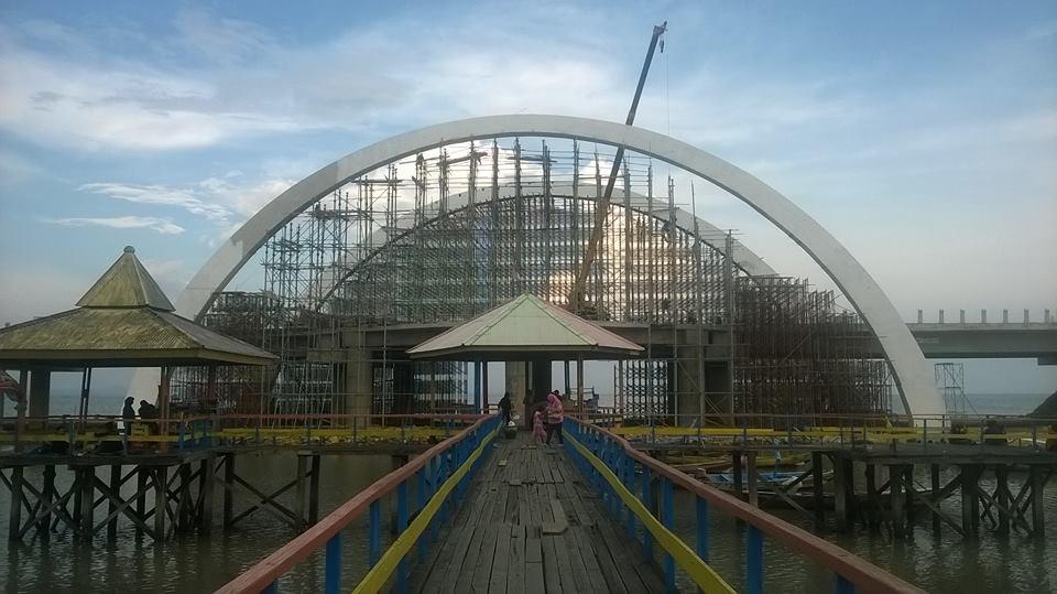 Akhir Bulan Jembatan Kenjeran Siap Diresmikan Pojok Pitu Surabaya Kota
