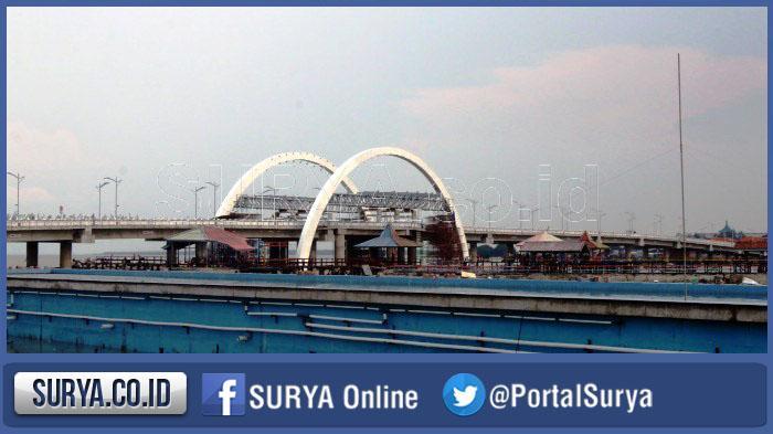 Akhir Februari Rencana Peresmian Jembatan Kenjeran Surabaya Surya Kota