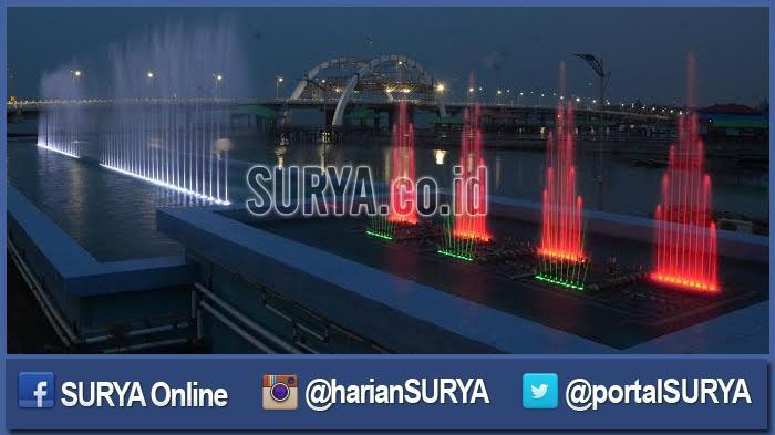 Galeri Foto Gemerlap Jembatan Kenjeran Surabaya Surya Berita Jatim Germelap