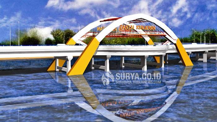 Ikon Suro Boyo Ikut Lengkapi Desain Jembatan Kenjeran Surya Ist