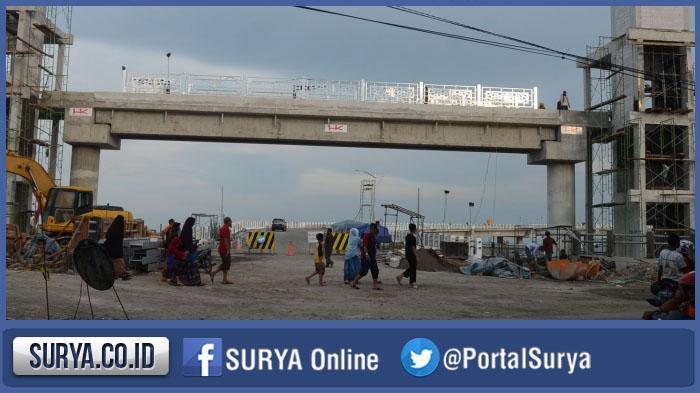 Jembatan Kenjeran Diresmikan Setelah Minggu Kedua Maret 2016 Persiapannya Surabaya