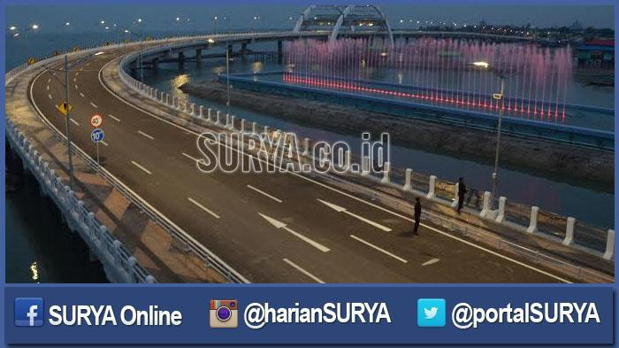Jembatan Kenjeran Embrio Wisata Bahari Surabaya Bakal Marak Surya Kota