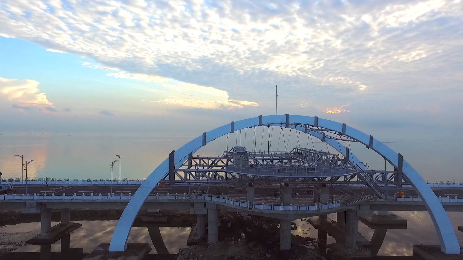 Jembatan Kenjeran Fly Youtube Surabaya Kota