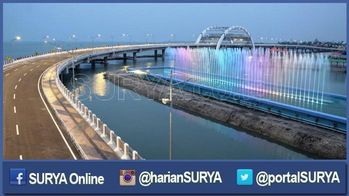 Jembatan Kenjeran Siap Dibuka Kata Dishub Tinggal Nunggu Aliran Listrik