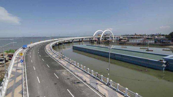 Jembatan Kenjeran Siap Dilaunching Risma Tiap Ikon Surabaya Kota