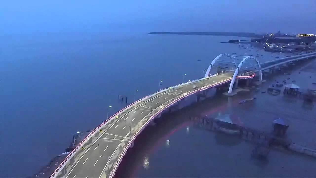 Jembatan Kenjeran Surabaya Dji Phantom 3 Standard Youtube Kota