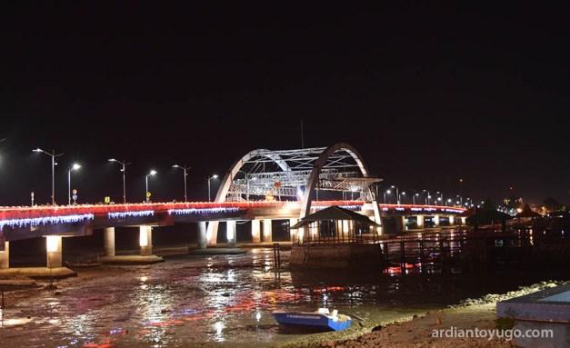 Jembatan Kenjeran Surabaya Jadi Tempat Wisata Ardiantoyugo Kota